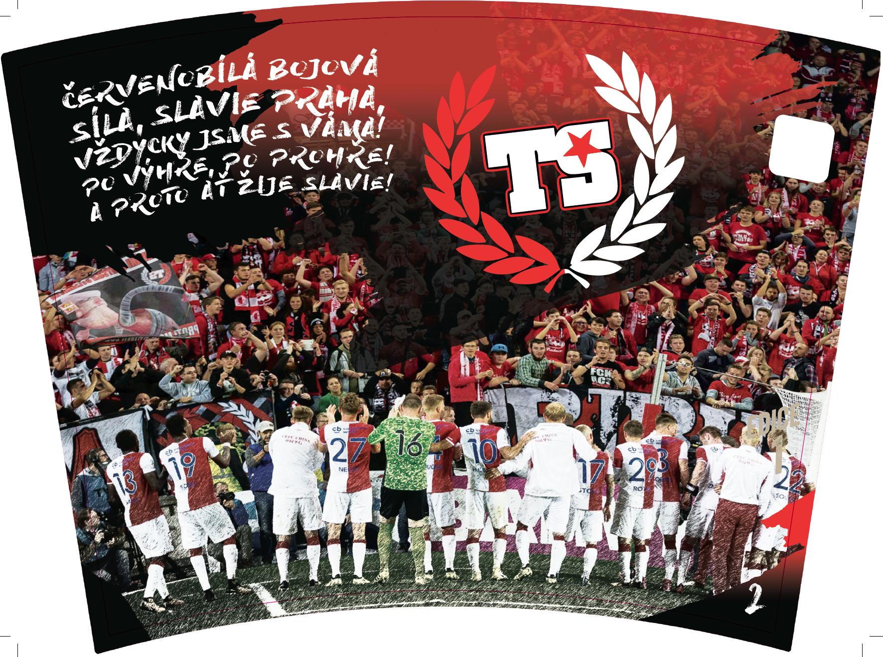 Ekokubki Nicknack Slavia Praha - kibice